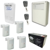 Alarma X28 6002w Residencial 4 Sensores Inalambricos