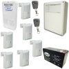 Alarma X28 6002w Residencial 6 Sensores Inalambricos
